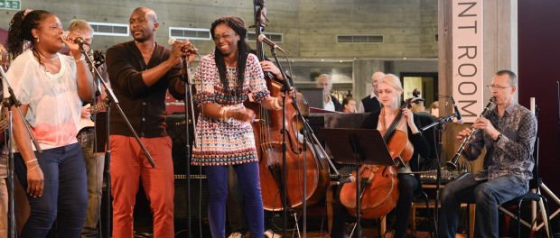 Platform 7 perform at Southbank Centre