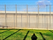 Prison shadow_photo by Lizzie Coombe