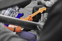 Guitar playing_photo by Lizzie Coombes