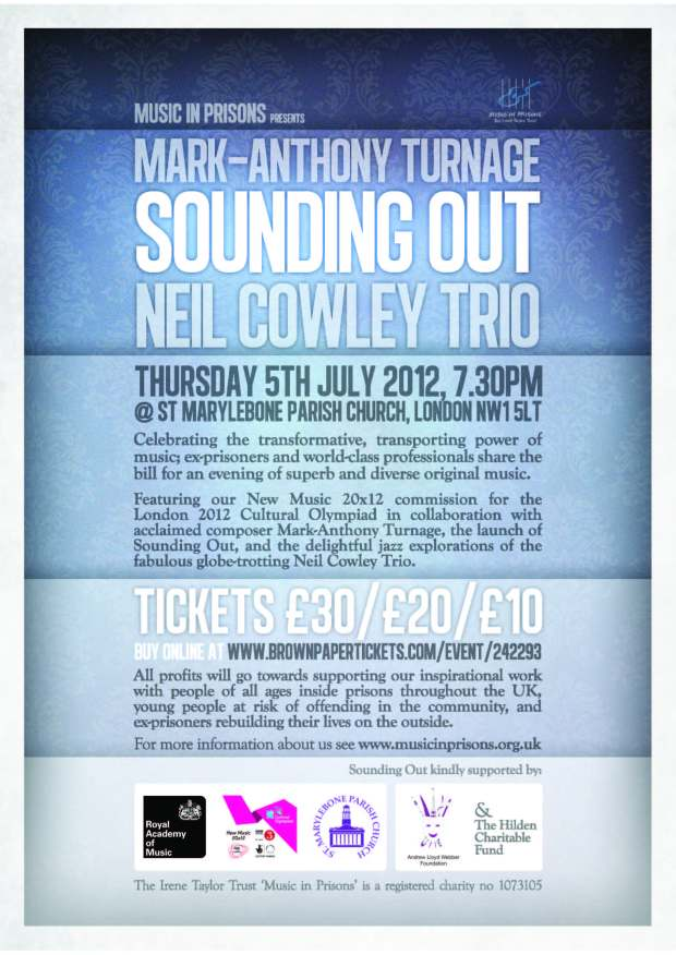 MiP Presents_Turnage, Sounding Out_Cowley Trio_05.07.12