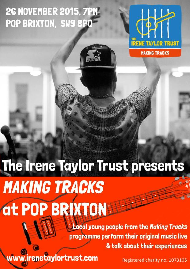 Making Tracks at Pop Brixton_26.11.15_poster