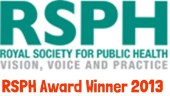 Royal Society for Public Health Award Winner