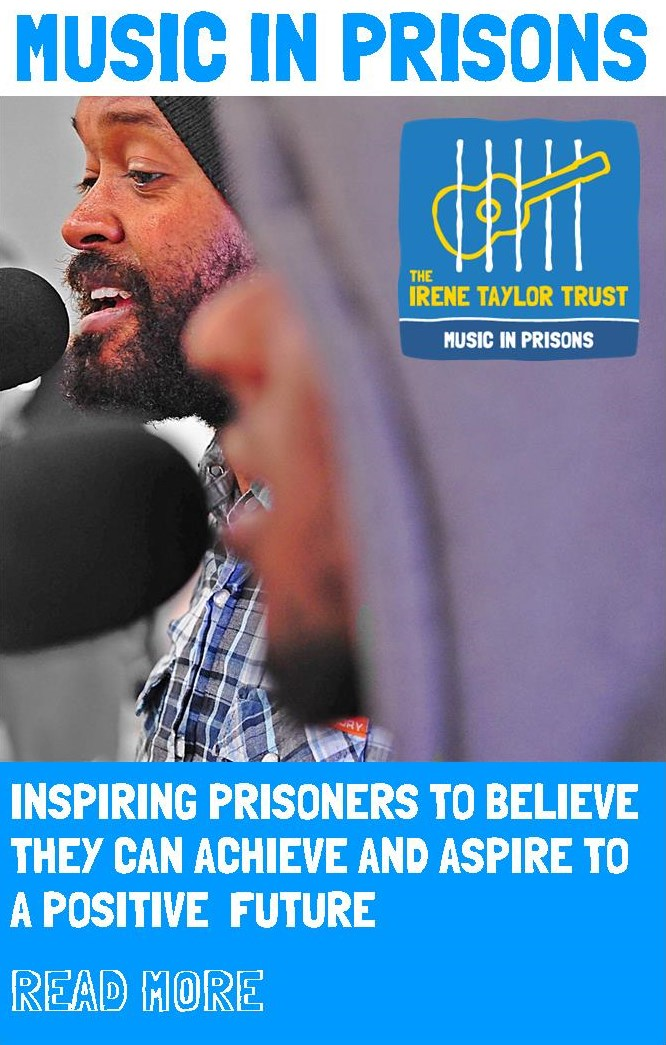 Music in Prisons: Inspiring prisoners to believe they can achieve and aspire to a positive future