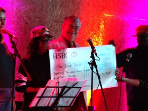 Proms cheque_Making Tracks at Pop Brixton