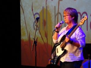 Sara Lee at Koestler opening