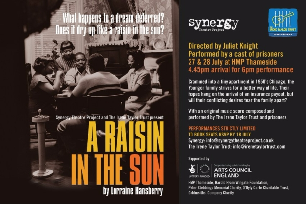 A Raisin in the Sun flyer