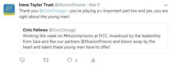 Tweet from Chicago Civic Fellows
