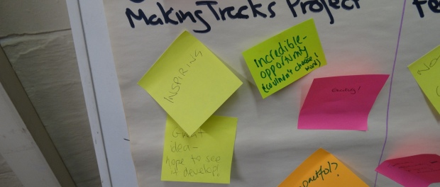 Making Tracks North West feedback pic