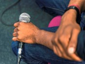 Microphone_photo by Lizzie Coombes