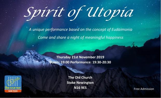 Spirit of Utopia flyer